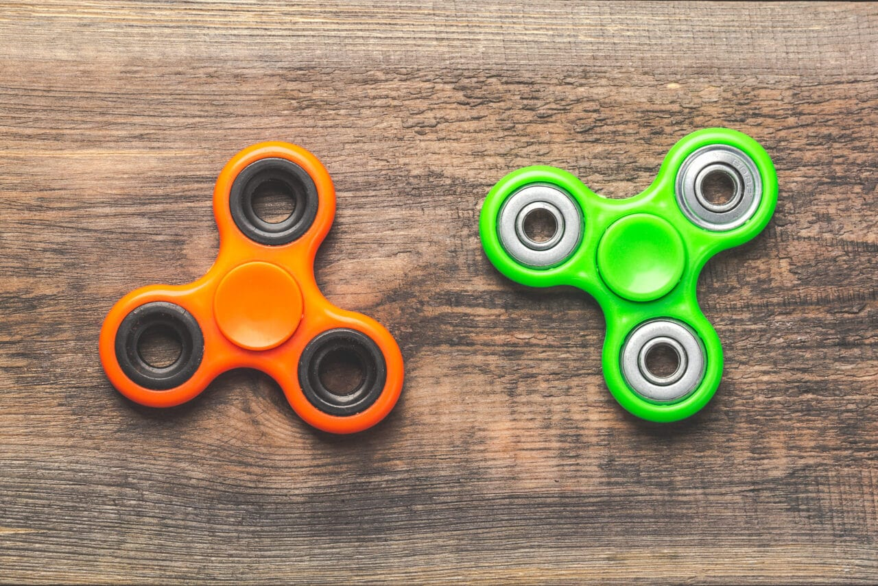 Fidget spinner - przykład nieudanego importu