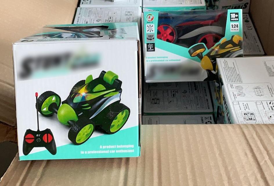 Samochody zdalnie sterowane sprowadzone z Chin