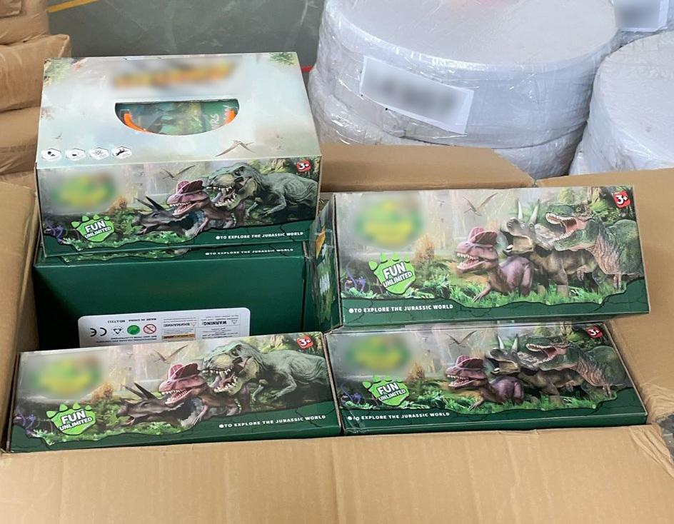 Gry dla dzieci Dino Paradise sprowadzone z Chin