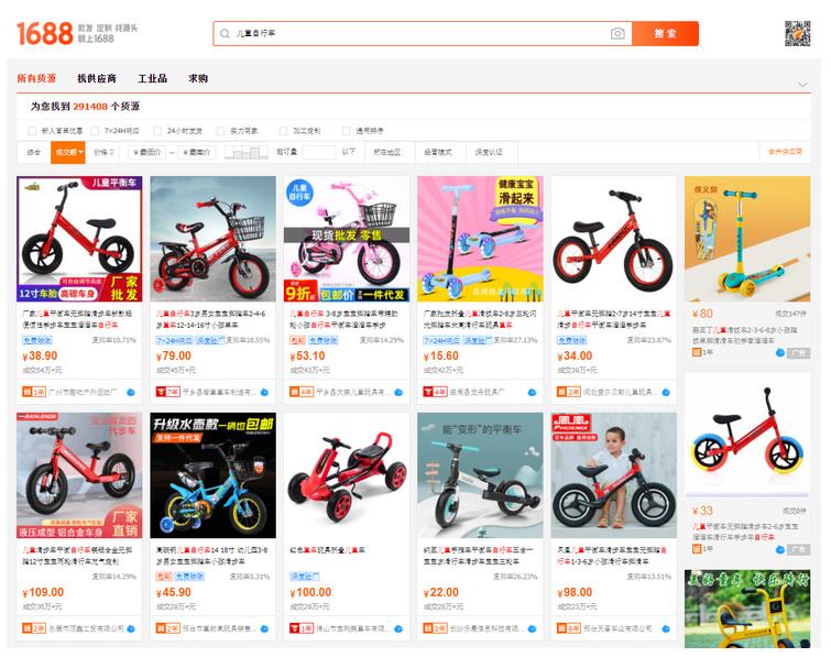 Pojazdy dla dzieci z Chin