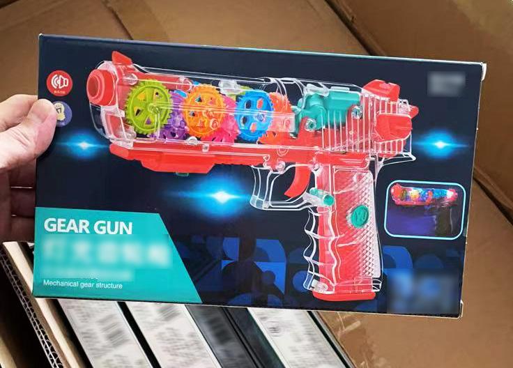 Pistolety zabawkowe z Chin